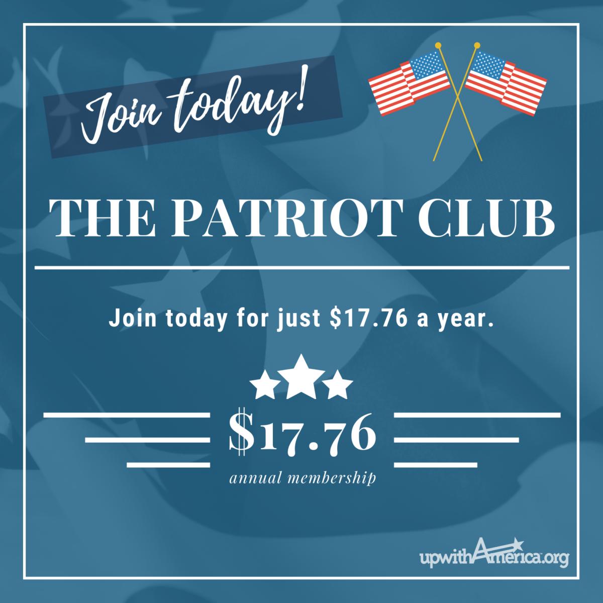 American Flag Instagram Post